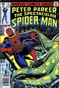 Cover Thumbnail for The Spectacular Spider-Man (Marvel, 1976 series) #31