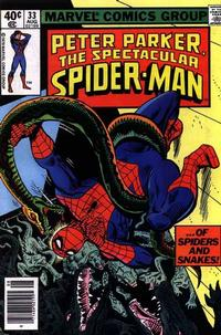 Cover Thumbnail for The Spectacular Spider-Man (Marvel, 1976 series) #33