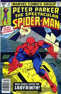 Cover Thumbnail for The Spectacular Spider-Man (Marvel, 1976 series) #35