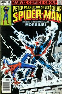 Cover Thumbnail for The Spectacular Spider-Man (Marvel, 1976 series) #38