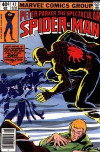 Cover Thumbnail for The Spectacular Spider-Man (Marvel, 1976 series) #43