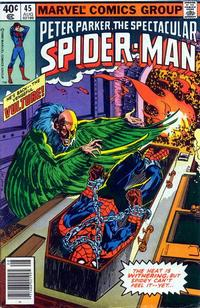 Cover Thumbnail for The Spectacular Spider-Man (Marvel, 1976 series) #45