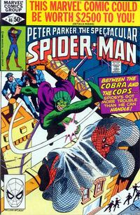Cover Thumbnail for The Spectacular Spider-Man (Marvel, 1976 series) #46 [Direct]