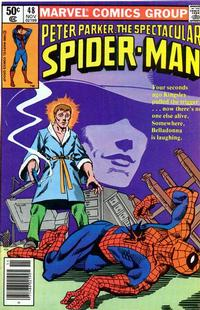 Cover Thumbnail for The Spectacular Spider-Man (Marvel, 1976 series) #48
