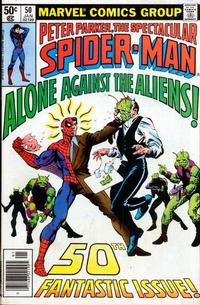 Cover Thumbnail for The Spectacular Spider-Man (Marvel, 1976 series) #50