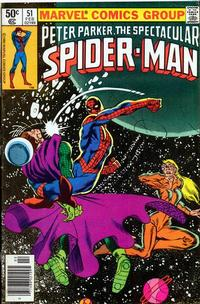 Cover Thumbnail for The Spectacular Spider-Man (Marvel, 1976 series) #51