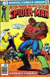 Cover Thumbnail for The Spectacular Spider-Man (Marvel, 1976 series) #53