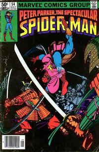 Cover for The Spectacular Spider-Man (Marvel, 1976 series) #54