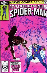 Cover Thumbnail for The Spectacular Spider-Man (Marvel, 1976 series) #55