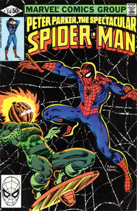 Cover Thumbnail for The Spectacular Spider-Man (Marvel, 1976 series) #56