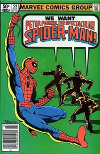 Cover Thumbnail for The Spectacular Spider-Man (Marvel, 1976 series) #59