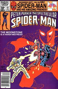 Cover Thumbnail for The Spectacular Spider-Man (Marvel, 1976 series) #61