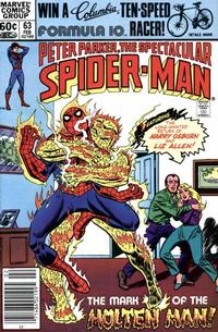 Cover Thumbnail for The Spectacular Spider-Man (Marvel, 1976 series) #63
