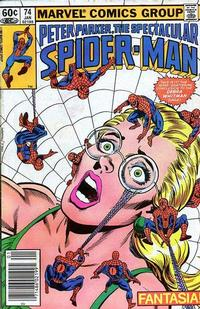 Cover Thumbnail for The Spectacular Spider-Man (Marvel, 1976 series) #74