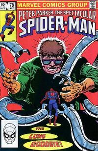 Cover Thumbnail for The Spectacular Spider-Man (Marvel, 1976 series) #78 [Direct Edition]