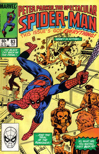 Cover Thumbnail for The Spectacular Spider-Man (Marvel, 1976 series) #83 [Direct Edition]