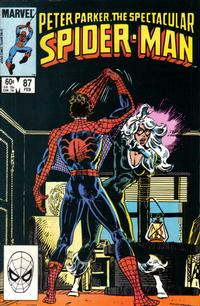 Cover Thumbnail for The Spectacular Spider-Man (Marvel, 1976 series) #87 [Direct Edition]