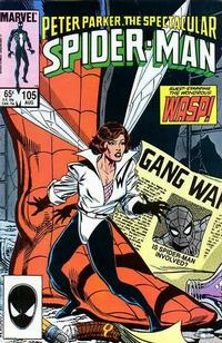 Cover Thumbnail for The Spectacular Spider-Man (Marvel, 1976 series) #105 [direct]