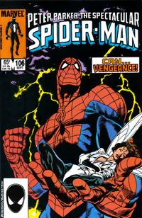 Cover Thumbnail for The Spectacular Spider-Man (Marvel, 1976 series) #106 [direct]