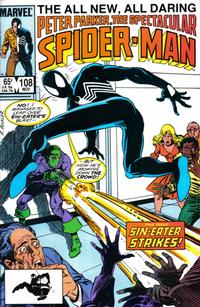 Cover Thumbnail for The Spectacular Spider-Man (Marvel, 1976 series) #108 [direct]