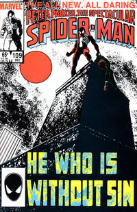 Cover Thumbnail for The Spectacular Spider-Man (Marvel, 1976 series) #109 [Direct]