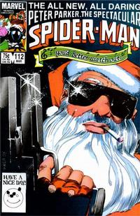 Cover Thumbnail for The Spectacular Spider-Man (Marvel, 1976 series) #112 [Direct]