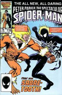 Cover Thumbnail for The Spectacular Spider-Man (Marvel, 1976 series) #116 [direct]