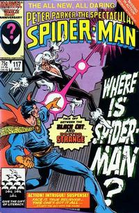 Cover Thumbnail for The Spectacular Spider-Man (Marvel, 1976 series) #117 [direct]