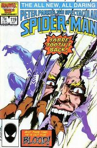 Cover Thumbnail for The Spectacular Spider-Man (Marvel, 1976 series) #119 [direct]
