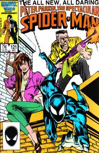 Cover Thumbnail for The Spectacular Spider-Man (Marvel, 1976 series) #121 [direct]