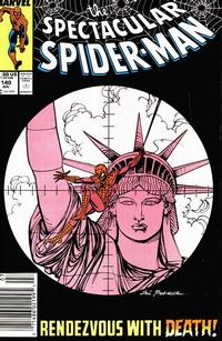 Cover Thumbnail for The Spectacular Spider-Man (Marvel, 1976 series) #140 [newsstand]