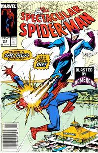 Cover for The Spectacular Spider-Man (Marvel, 1976 series) #144 [direct]