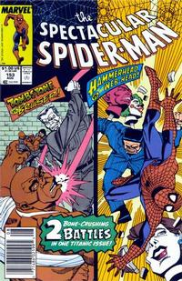 Cover Thumbnail for The Spectacular Spider-Man (Marvel, 1976 series) #153 [newsstand]