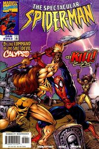 Cover Thumbnail for The Spectacular Spider-Man (Marvel, 1976 series) #253