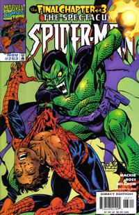 Cover Thumbnail for The Spectacular Spider-Man (Marvel, 1976 series) #263
