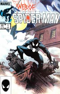 Cover Thumbnail for Web of Spider-Man (Marvel, 1985 series) #1 [Direct]
