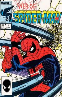 Cover Thumbnail for Web of Spider-Man (Marvel, 1985 series) #4 [Direct]