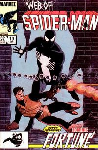 Cover Thumbnail for Web of Spider-Man (Marvel, 1985 series) #10 [Direct]