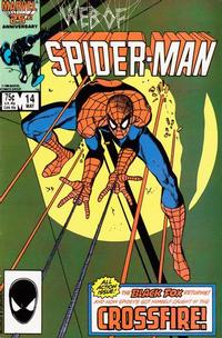 Cover Thumbnail for Web of Spider-Man (Marvel, 1985 series) #14 [Direct]