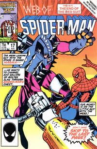 Cover Thumbnail for Web of Spider-Man (Marvel, 1985 series) #17 [Direct]