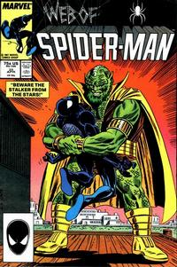 Cover Thumbnail for Web of Spider-Man (Marvel, 1985 series) #25 [Direct Edition]