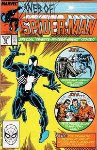 Cover Thumbnail for Web of Spider-Man (Marvel, 1985 series) #35 [Direct Edition]