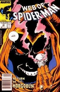 Cover Thumbnail for Web of Spider-Man (Marvel, 1985 series) #38 [Newsstand Edition]