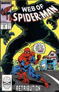 Cover Thumbnail for Web of Spider-Man (Marvel, 1985 series) #39 [Direct Edition]