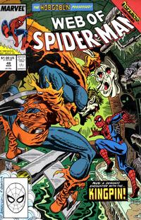Cover Thumbnail for Web of Spider-Man (Marvel, 1985 series) #48 [Direct Edition]