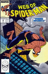 Cover Thumbnail for Web of Spider-Man (Marvel, 1985 series) #49 [Direct Edition]