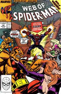Cover Thumbnail for Web of Spider-Man (Marvel, 1985 series) #59 [Direct Edition]