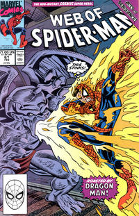 Cover Thumbnail for Web of Spider-Man (Marvel, 1985 series) #61 [Direct Edition]