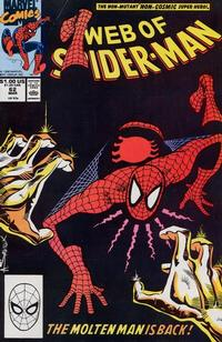 Cover Thumbnail for Web of Spider-Man (Marvel, 1985 series) #62 [Direct Edition]