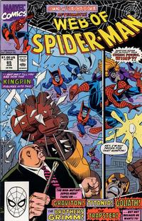 Cover Thumbnail for Web of Spider-Man (Marvel, 1985 series) #65 [Direct Edition]